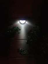 LED solar light outdoor water proof Ball 6 LED Light Control Solar Garden Outdoor Fence Security Wall Solar Power Lamps(China (Mainland))