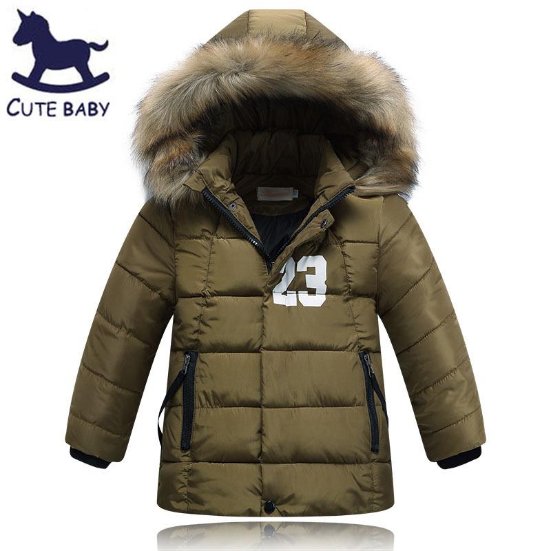 Гаджет  2015 Winter Boys Coat Children