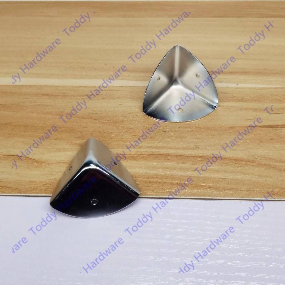 12pcs 25mm//1pc 40mm Antique brass/Silver style metal box corner protection case edge guard corner cover + Screws