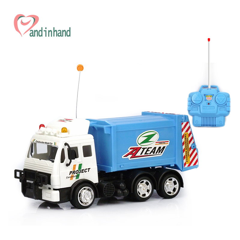Remote Control Car Toys Trunk Water Tank Trailer RC Radio Remote Control Children Toys Electric Plastic Hot Birthday Xmas Gift(China (Mainland))