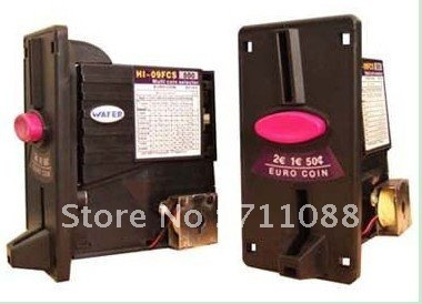 Multi coin selector acceptor  self programming for 8 different coins/vending machine/casino/game machine<br><br>Aliexpress