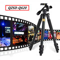 QZSD Q620 Video Camera Tripod Head For SLR Camera Digital Camera Tripod Extened Length 180CM Via