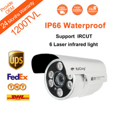 Free Shipping 1200TVL Apollo Chip HD Outdoor IP66 Waterproof CCTV Camera CCTVCamera Night Vision Distance 50M Oem KaiCong S421C