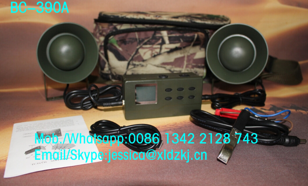 wholesale electric hunting decoy hunting bird mp3 player bird caller with 35w 4 ohm speaker(China (Mainland))