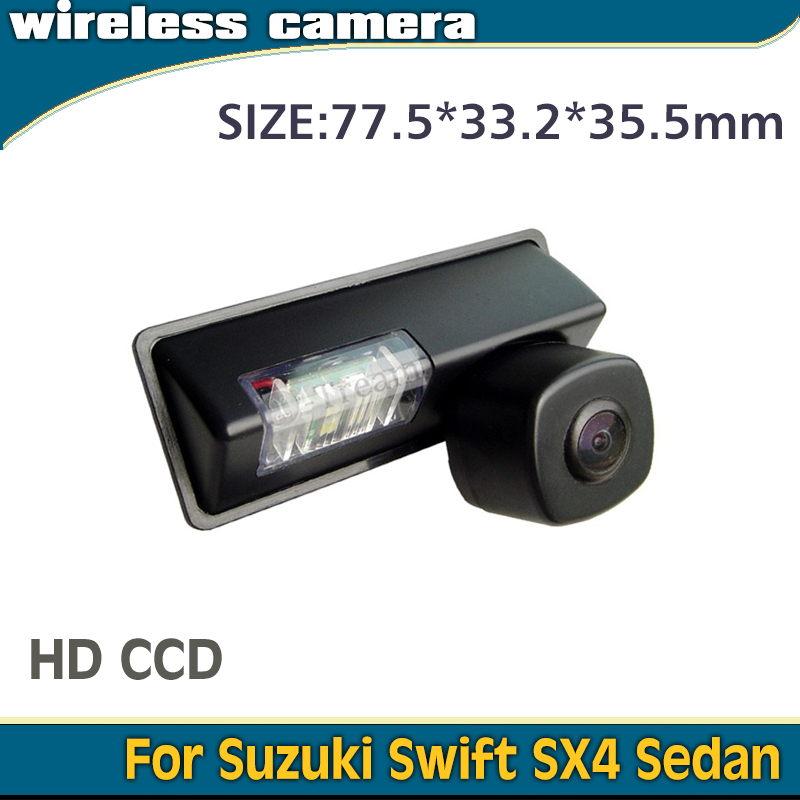 High quality for Swift SX4 camera Sedan Wireless car rear view backup camera with 2.4Ghz Receiver Transmitter security system(China (Mainland))