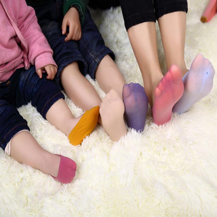 1 Lot=2 Pairs Magic Socks Mom and Me Family Socks Children meias Silica gel Boat Socks Sneakers Baby Colorful Socks Cute Funny(China (Mainland))