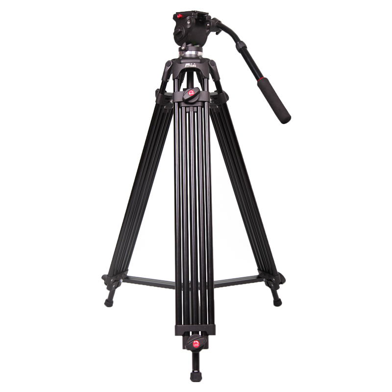 Jie Yang tripod jy0606 professional camera tripod jy-0606 SLR tripod damping head 75MM Compatible with Manfrotto(China (Mainland))