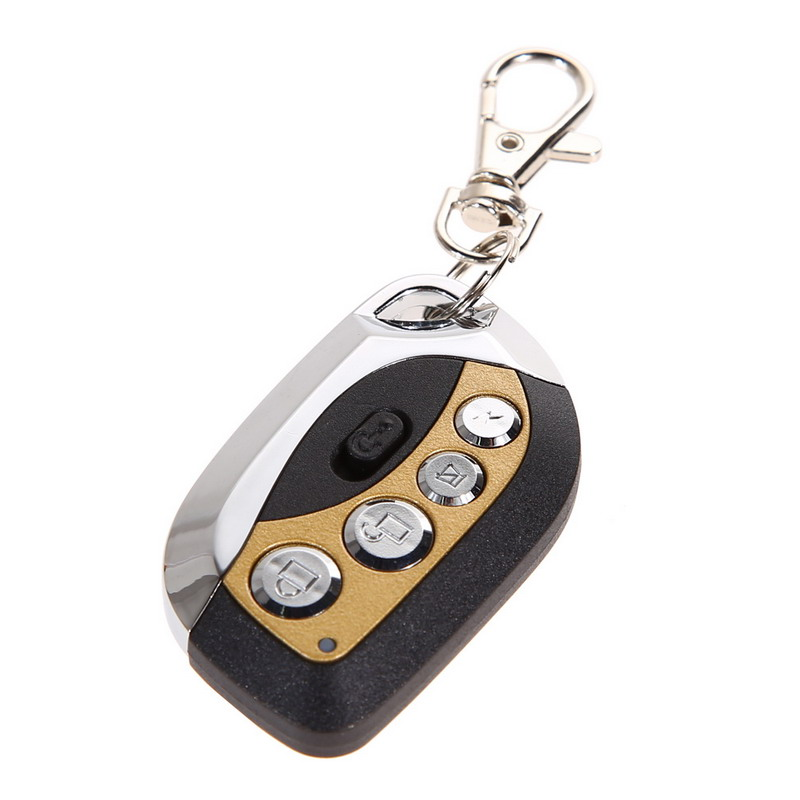 1Pcs Practical AK-RD095 433 MHz 12V Self Learning Fixed Code Copy Remote Control for Car Alarm Panic Buttons Garage door OD#S(China (Mainland))