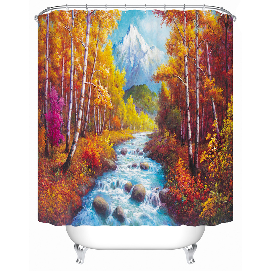 Fall Shower Curtain Promotion Shop For Promotional Fall