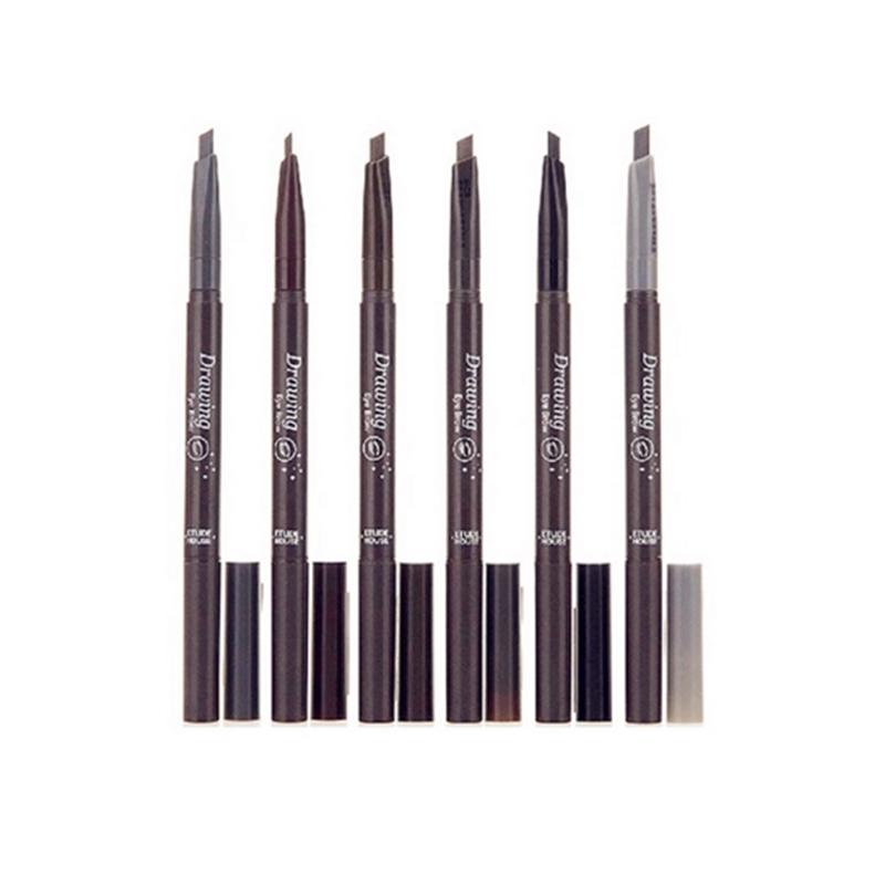 beverly hills double rotary eyebrow pencil waterproof makeup thrush artifact for eyebrows,dipbrow pomade beauty eyebrow tint pen(China (Mainland))