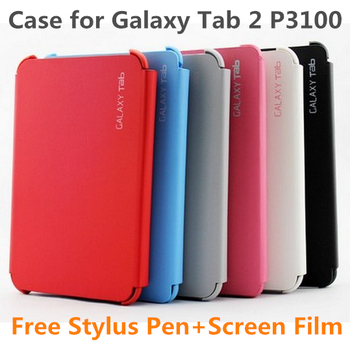 "High Quality Hot Ultra Thin Book Flip Case Cover For 7.0"" Samsung Galaxy Tab 2 GT-P3100 P3110"