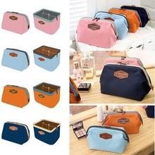 Portable Cute Multifunction Beauty Travel Cosmetic Bag Makeup Case Pouch Toiletry Makeup Case Zipper Mini Women Bags(China (Mainland))