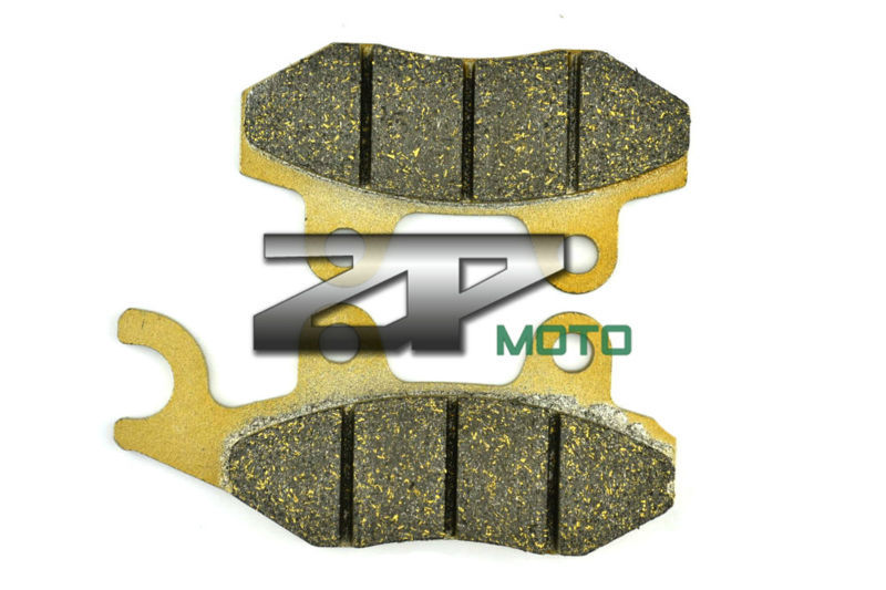 Organic Kevlar Brake Pads For SUZUKI ATV LT-A 500 FY/FK1 00-01 LT-F 500 FW/FX/FY/FK1/FK2 98-02 Front (Right) New High Quality(China (Mainland))