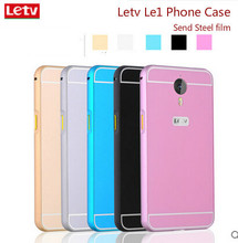 Letv one le1 Phone Case Metal Frame + PC backplane 2in1 mobile phone case cover for Letv le 1 X600 Send tempered glass film