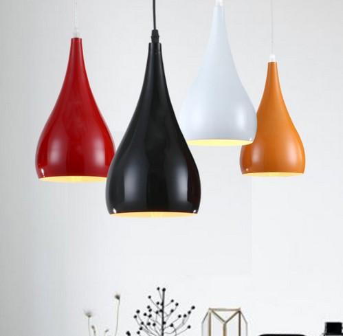 Nordic Loft Simple Aluminum Droplight Modern LED Pendant Light Fixtures For Living Dining Room Hanging Lamp Indoor Lighting<br><br>Aliexpress