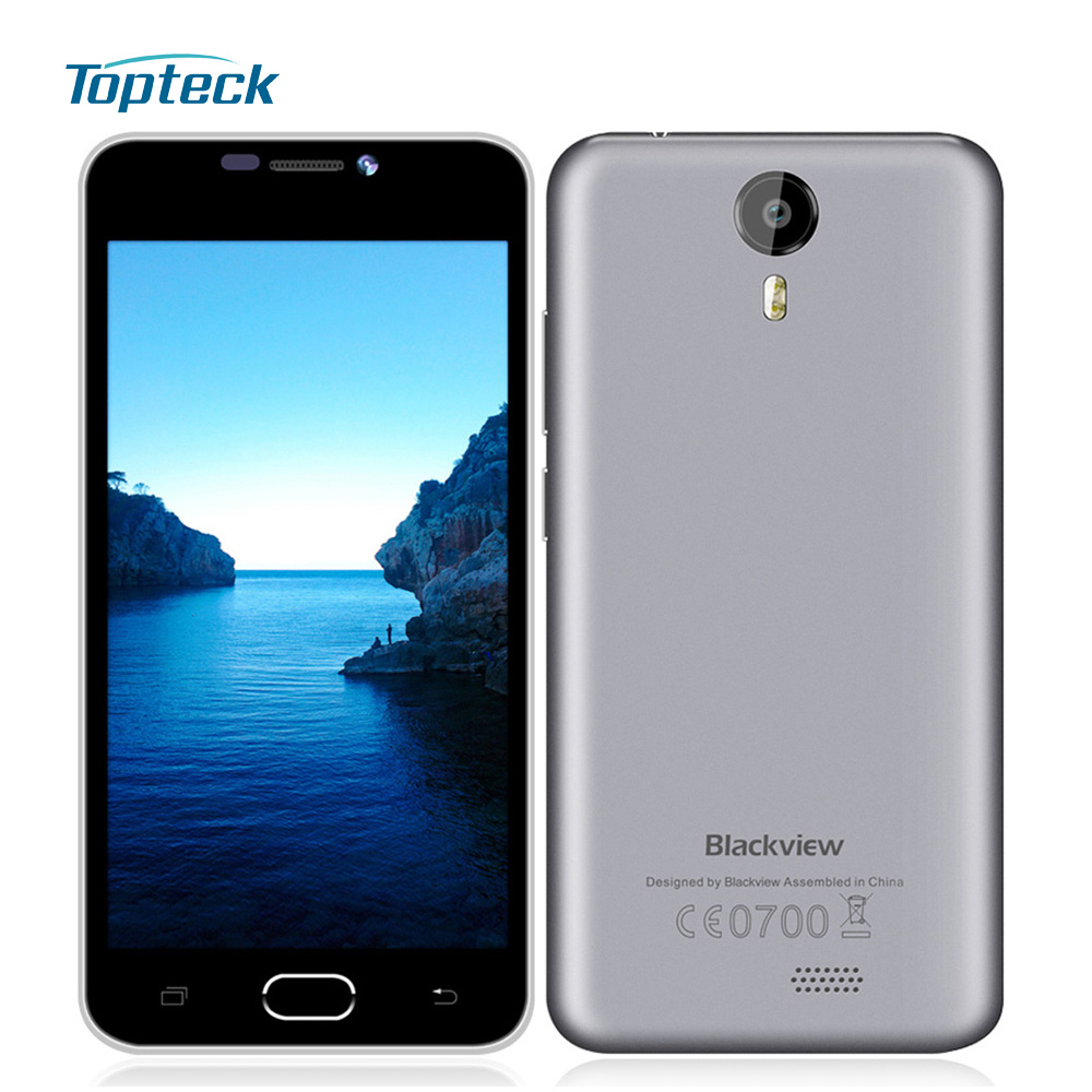 """Blackview BV2000 4G LTE 5.0"""" HD IPS 720P Smartphone Android 5.1 Quad Core MTK6735 1GB+8GB 8MP Dual SIM 2400mA Mobile Cell Phone(China (Mainland))"""