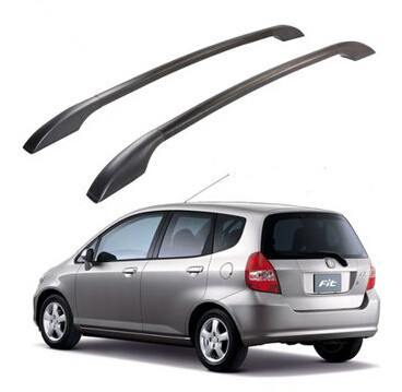 Free shipping roof rack bars roof boxes roof racks easy install Without drilling Luggage rack case for HONDA FIT modified(China (Mainland))