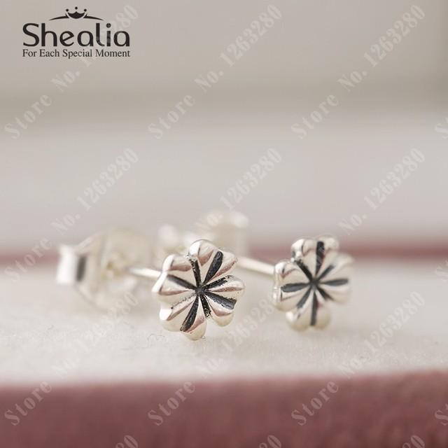 2015 весной новый энотеры серьги старинные цветы серьги для женщин оригинал 925 Shealia ювелирных украшений