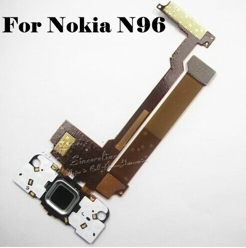 Slide Navigation Cable Mobile Phone Flex Cables Original LCD Button Key Keypad Flex Cable Ribbon with Camera For Nokia N96(China (Mainland))