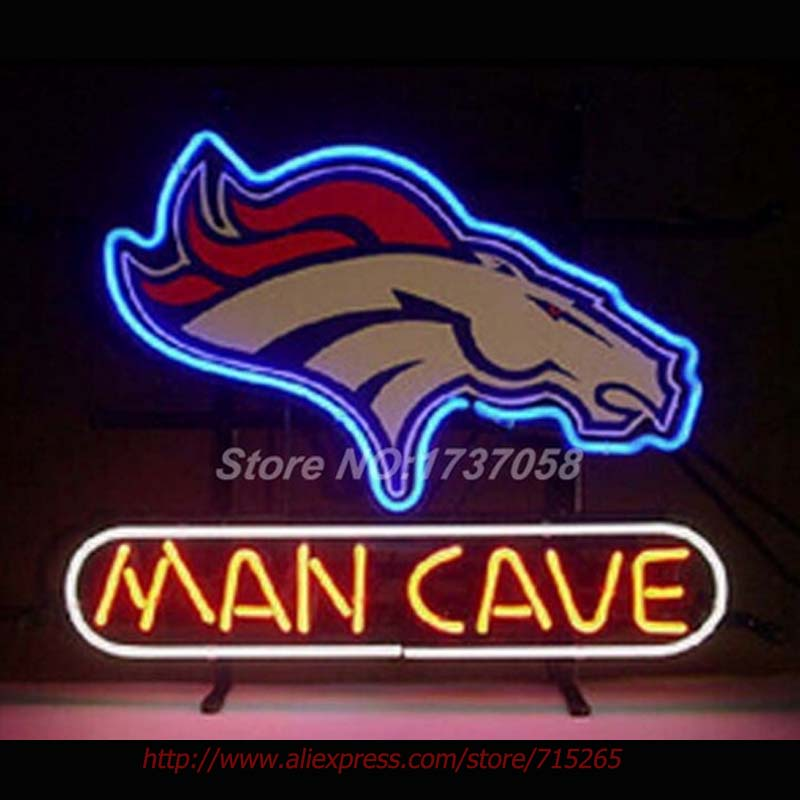 Man Cave Neon Light Signs : Denver horse man cave neon signs beer bulbs