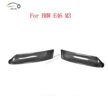 Buy carbon fiber front splitter auto racing car front bumper lip corner splitters apron for BMW E46 M3 2000-2003 CSL style for $86.04 in AliExpress store