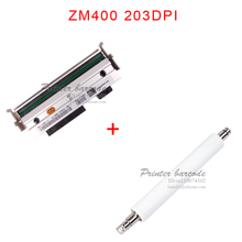 NEW Compatible 79800M Thermal Printhead +rubber roller For ZM400 203DPI Printhead Free Shipping