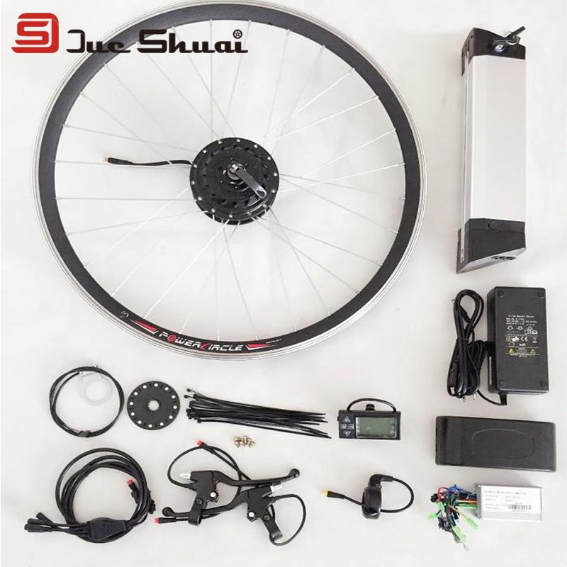 DIY Electric Bicycle Whole Conversion Kit 12Parts 36V Battery Suit 250W 350W PAS LCD Display Headlight Charger Waterproof Wire<br><br>Aliexpress