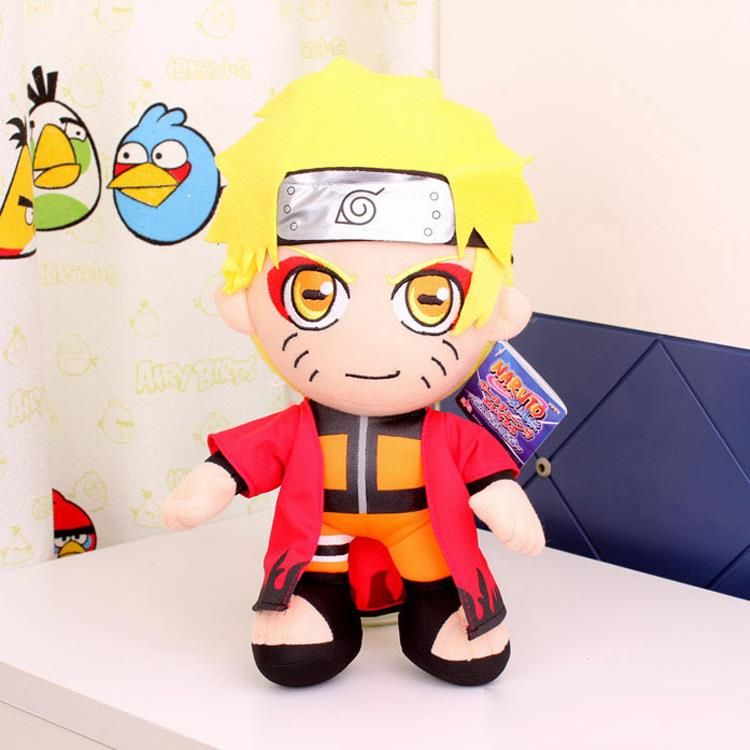 "12"" Anime Naruto Uzumaki Naruto Plush Toys Doll Kawaii Uzumaki Naruto Plush Dolls Soft Stuffed Toys Classic Toys for Kids Gift(China (Mainland))"