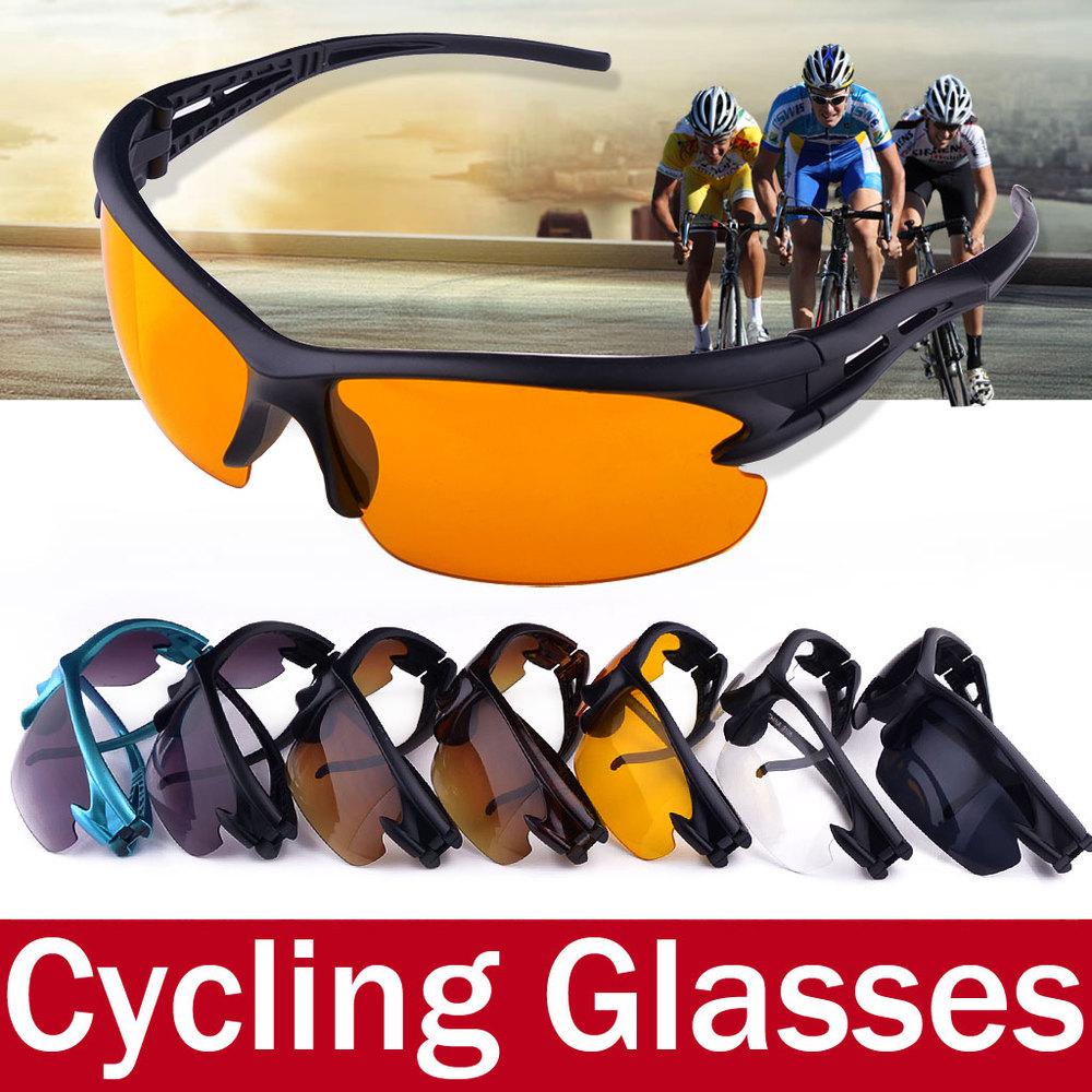 Men Women Cycling Glasses Summer Style Outdoor UV400 Mountain Bike Sport Glasses Eyewear Motorcycle Sunglasses Gafas