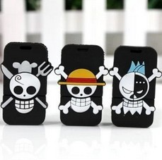 Creative Skeleton Head One Piece USB 2.0 Pen Drive Genuine 4GB 8GB 16GB 32GB USB Flash Drive Memory Disk(China (Mainland))