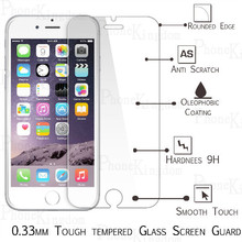 """4x Tempered Glass Screen Protector For iphone 6 Toughened Protective Cover Film For iphone 6 4.7"""" with Box +Cleaning Kits"""
