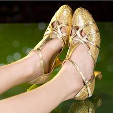 Women's Closed Toe Salsa Shoes High Heels Latin Ballroom Salsa Dancing Shoes For Girls Closed Toe Latin Dance Shoes
