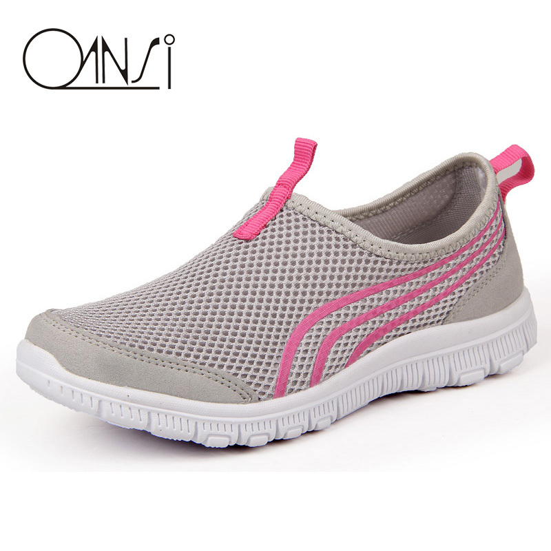 Women Athletic Running Sports Shoes Ladies Breathable Walking Trainers Tennis Shoes(China (Mainland))