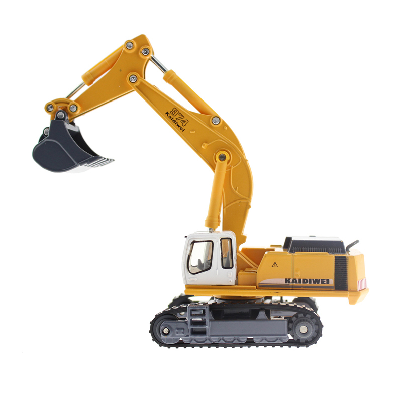 Metal Alloy Diecast Toy Excavator Truck Model R 964C Litronic Model 1:87 Capterpillar Navvy Engineering Truck Collection Toys(China (Mainland))