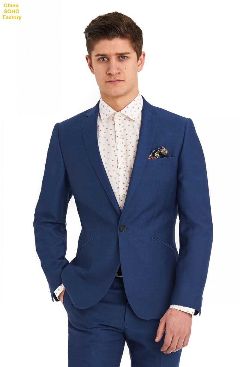 Groom Tuxedo Suit Big And Tall Mens Clothing One Button