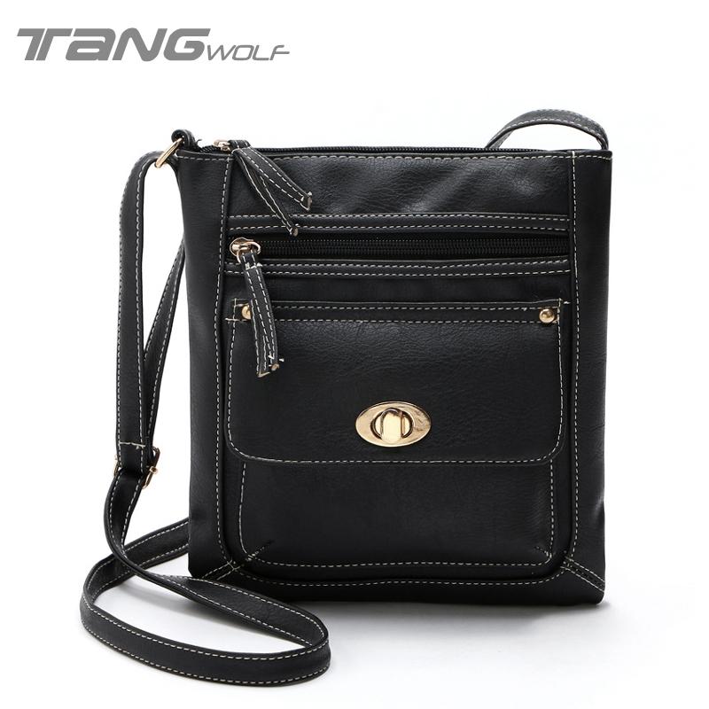 2016 New Vintage Women Bag Lady Shoulder Messenger Bag High Quality Sac Femme Pouch Bolsa Feminina Women's Famous Brand Handbags(China (Mainland))