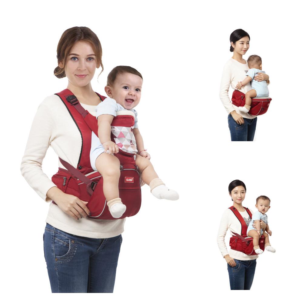 3 Ways SUNVENO New Design Kangaroo Hipseat Carrier Infant Baby Carrier Kids Infant Hip Seat Carrier for Carring Baby(China (Mainland))