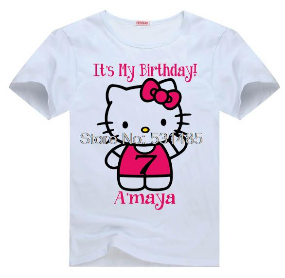 online get cheap personalized t shirts for kids birthday