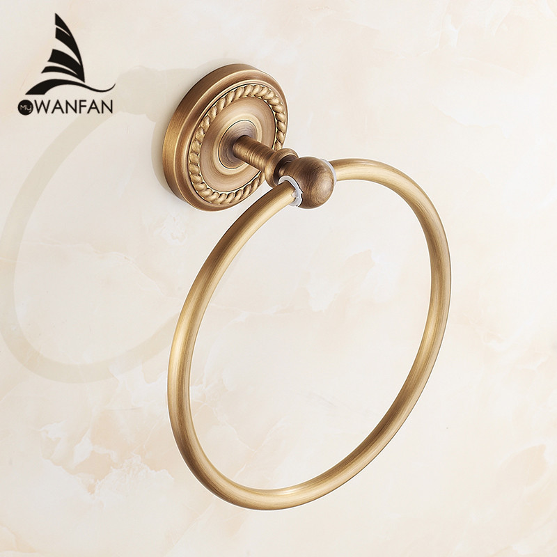 Free Shipping Towel Ring Copper Antique bronze/Gold/Black Finish Bathroom Accessories Products ,Towel Holder,Towel bar HJ-1307(China (Mainland))