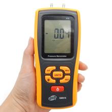 Portable Digital LCD display Pressure manometer GM510 50KPa Pressure differential manometer pressure gauge(China (Mainland))