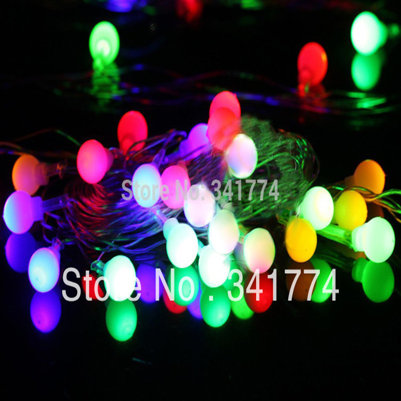 5 m 24 Leds Ball LED Holiday Lighting String Christmas Garland Chandelier for New Year Wedding Party Garden Outdoor Decoration(China (Mainland))