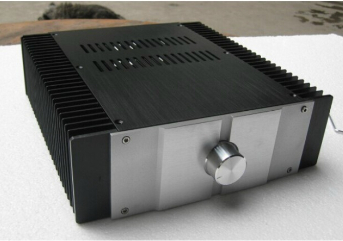 QUEENWAY audio aluminum chassis diy amplifier chassis JC229 aluminium amplifier chassis enclosure aluminium 300*90*311MM