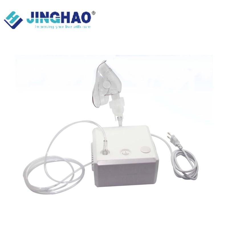 PVC Material Piston Compressor Mini Nebulizer Low Noise Steady Atomization Medication Inhaler Adult/Child Mask Cheap JH-106(China (Mainland))