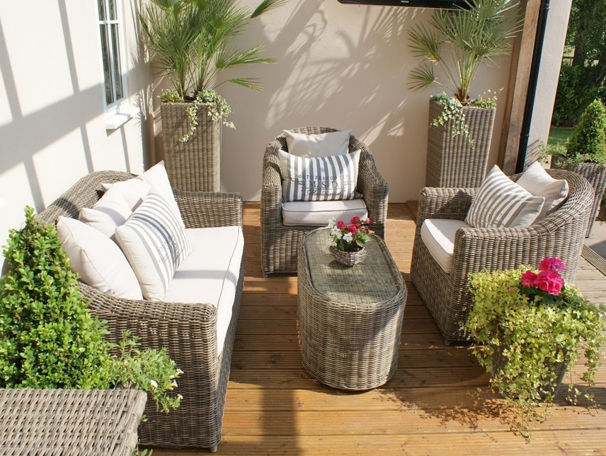 2015 Jinhua Sigma all weather beige outdoor small used wicker furniture(China (Mainland))