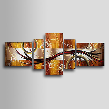 painted abstract canvas art home decor multi panel canvas wall