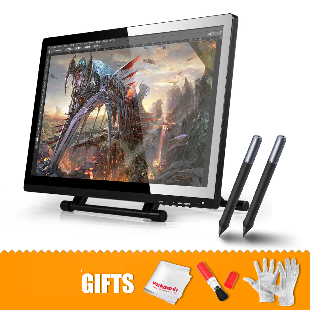 "2 Pens Original UGEE UG-2150 UG2150 Graphic Drawing Tablet 21.5"" IPS Monitor IPS Monitor 1920x1080 HD Display(China (Mainland))"