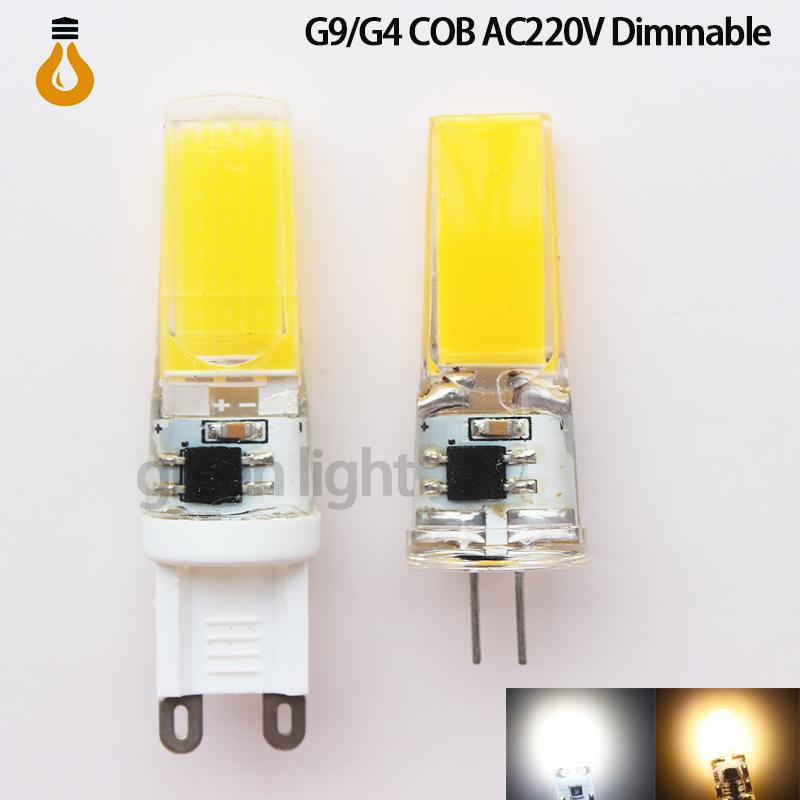 1pcs/lot G9 G4 LED 9W Dimmable LED Corn Light cob Super bright Replace 100W Halogen Lamp Led Light spotlight Crystal lamp(China (Mainland))