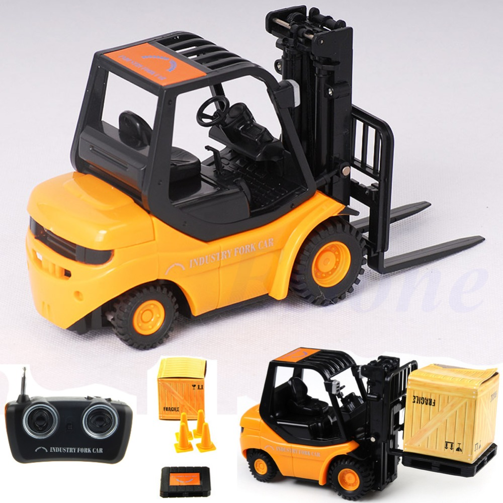 RC Forklift Radio Remote Control Controlled Truck Car Lifting Arm RC Crane Toy(China (Mainland))