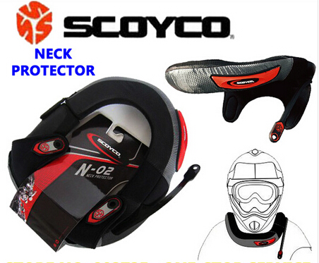 Brand Scoyco N02 Flame-Retardant Windproof Motorcycle Cycling Neck Protector Motocross Neck Brace MX Off Road Protective Gears(China (Mainland))