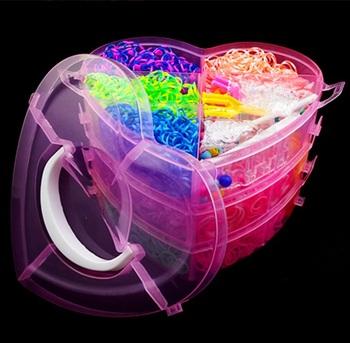 4000 шт. DIY комплект резинки для браслетов силиконовые резинки браслеты оптовая продажа фабрики резинка для плетения браслетов резинки для плетения